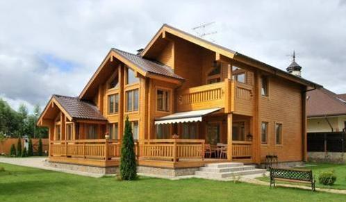 农村木房屋设计图